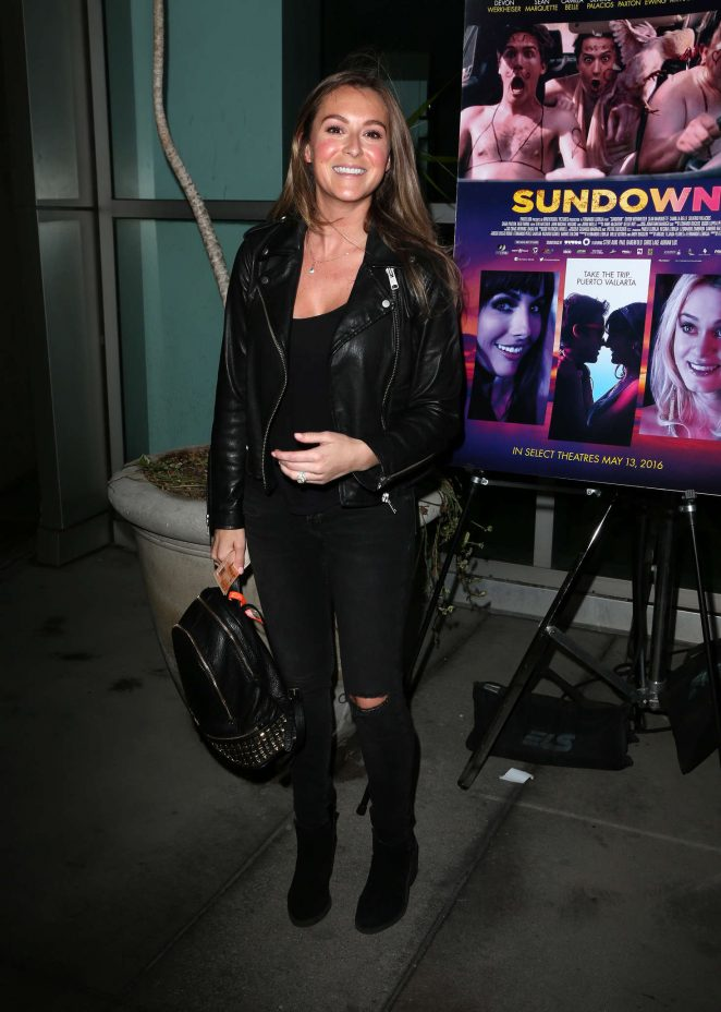 Alexa Vega - 'Sundown' Premiere in Hollywood