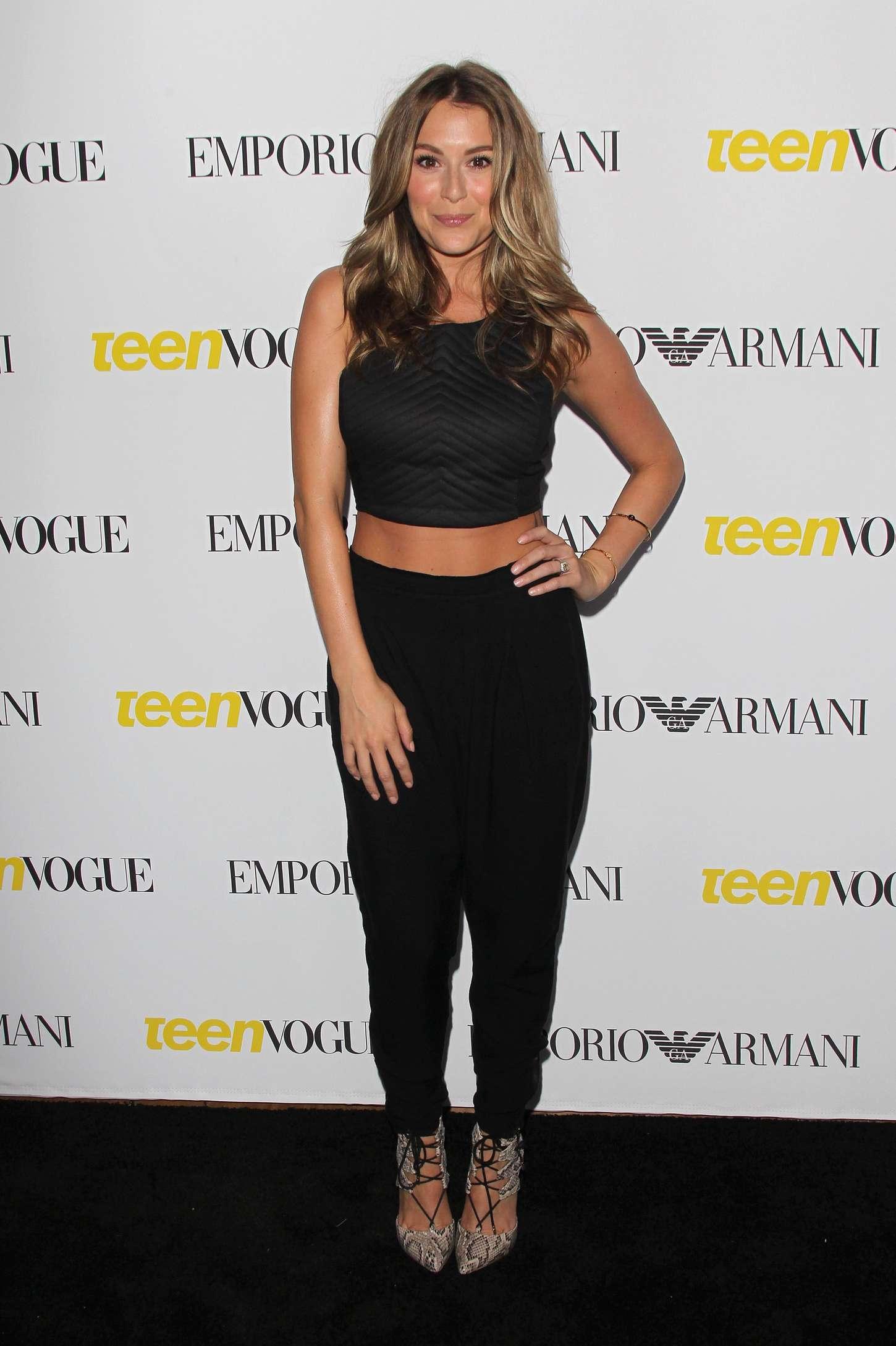 Alexa Vega 2015 : Alexa Vega: 2015 Teen Vogue Young Hollywood Party -06