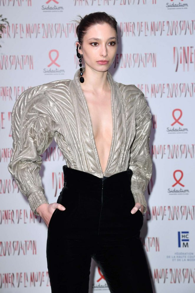 Alexandra Agoston - 2018 Sidaction Gala in Paris