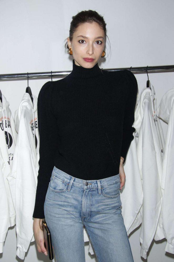 Alexandra Agoston - V Magazine Wardements Pop-Up Shop in NY