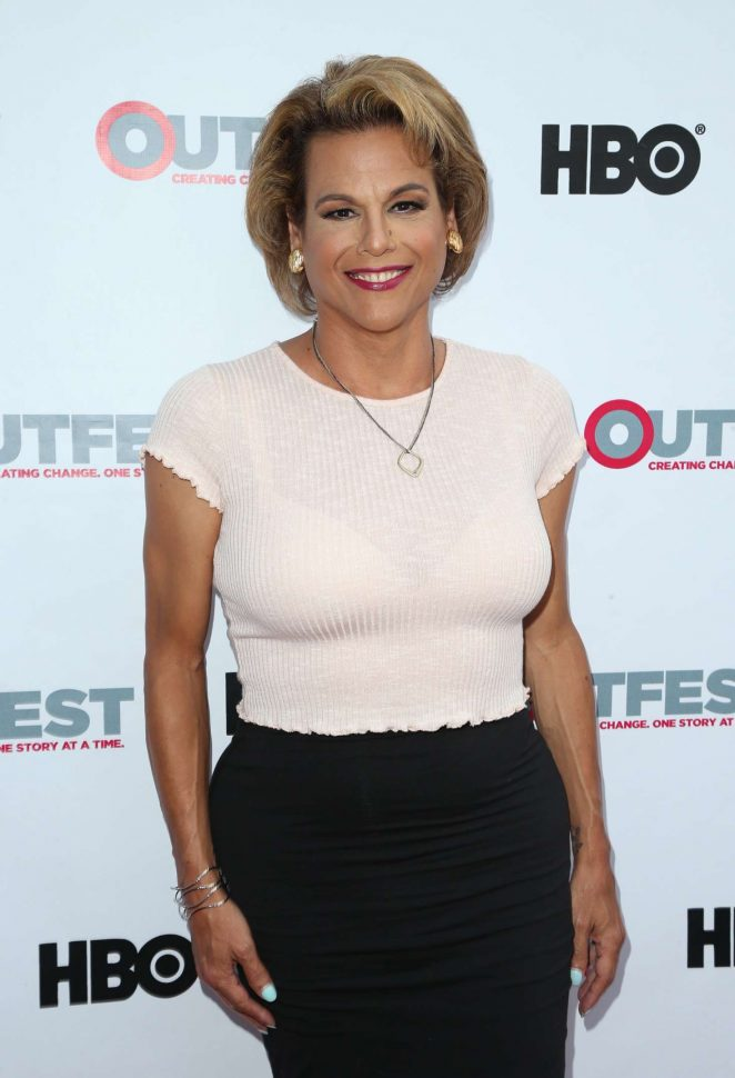 Alexandra Billings - 'Transparent' Screening Season 4 at 2017 Outfest Los Angeles LGBT Film Festival