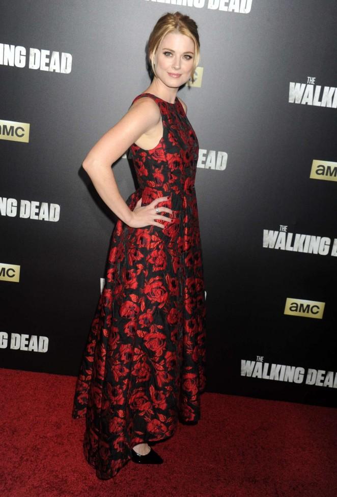 Alexandra Breckenridge - 'The Walking Dead' Season 6 Premiere in NYC