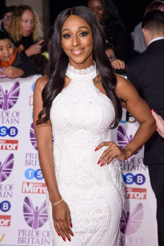 Alexandra Burke - 2017 Pride Of Britain Awards in London