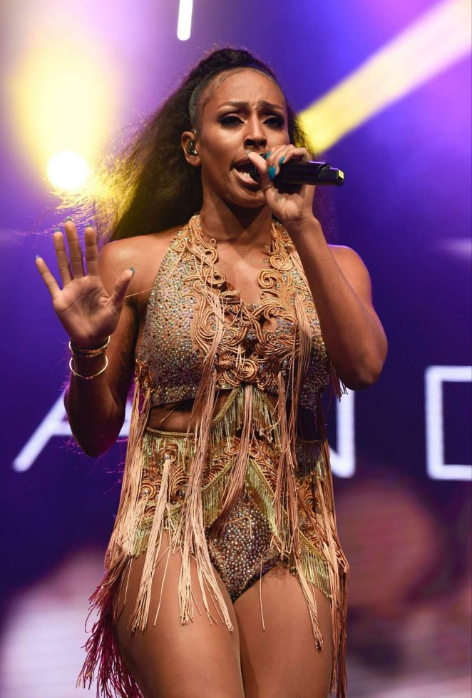 Alexandra Burke - Performs at Manchester Pride's Big Weekend in Manchester