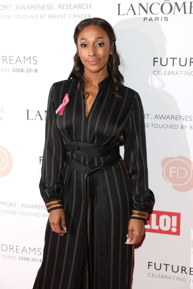 Alexandra Burke – 'Ten: A Decade Of Dreams' Fundraising Gala in London