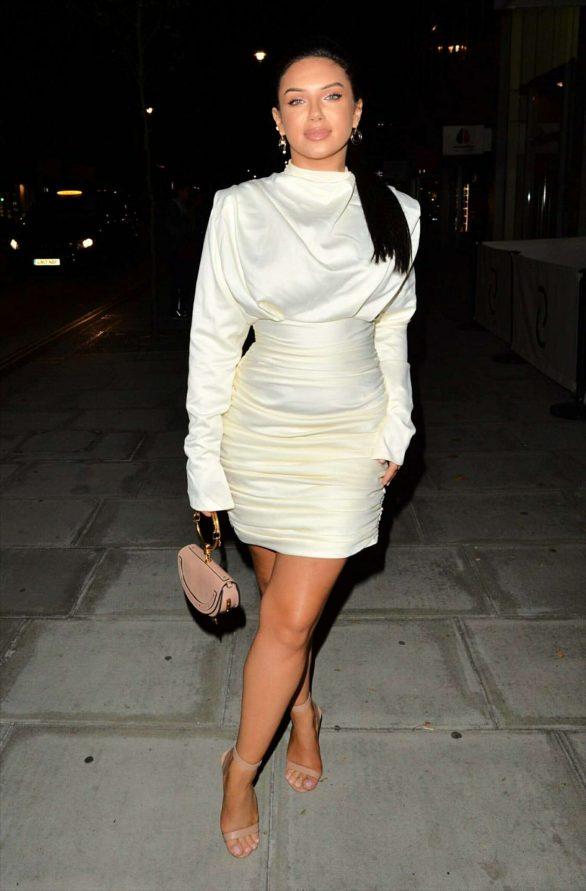Alexandra Cane - Arrives at Playa Club in London