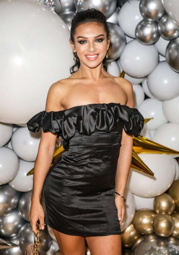 Alexandra Cane - Club L London Christmas Dinner Party in London