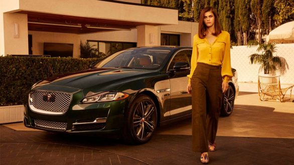 Alexandra Daddario - 2019 Jaguar XJ Collection Ads (November 2019)
