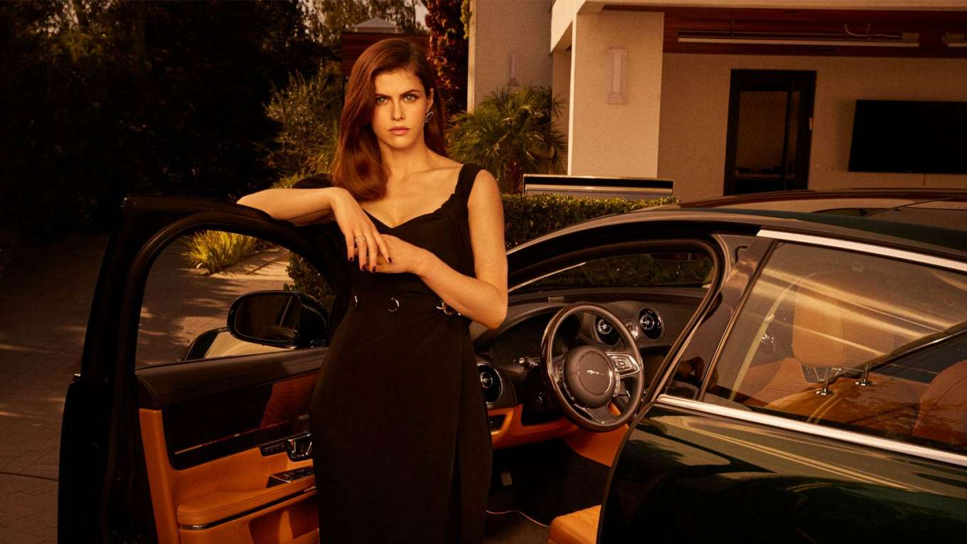 Alexandra Daddario 2019 : Alexandra Daddario – 2019 Jaguar XJ Collection Ads-04