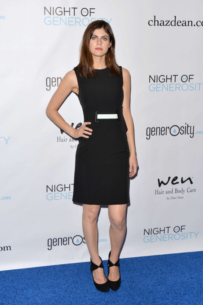 Alexandra Daddario - 7th Annual Night Of Generosity Gala in Beverly Hills