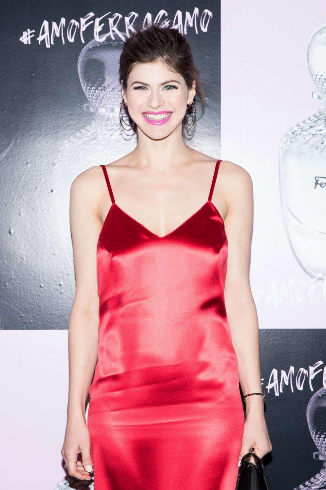 Alexandra Daddario - Amo Ferragamo hosted by Suki Waterhouse in New York
