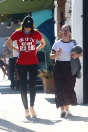 Alexandra Daddario and Kimiko Glenn - Seen out in LA