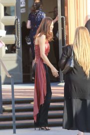 Alexandra Daddario - Arriving at the Wallis Annenberg Center in Los Angeles