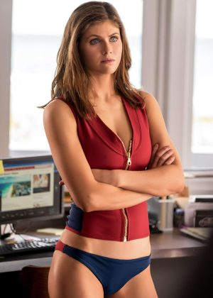 Alexandra Daddario - Baywatch Movie Promos 2017
