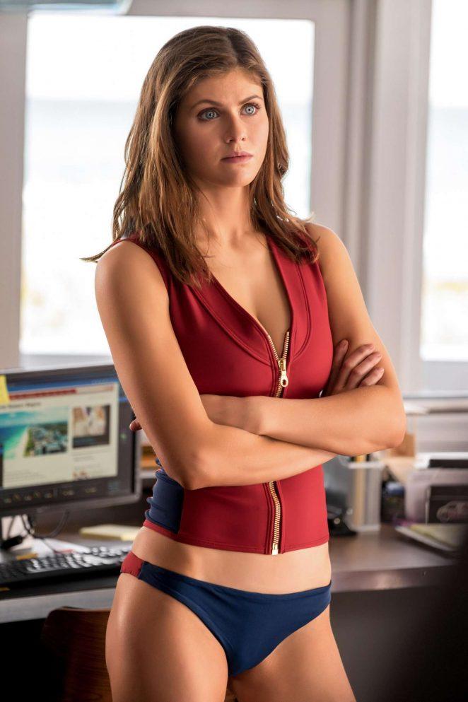Alexandra Daddario - Baywatch Movie Promos 2017