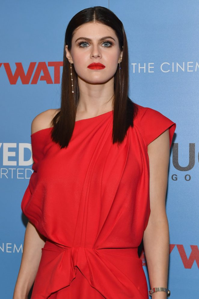 Alexandra Daddario - 'Baywatch' Screening in NYC