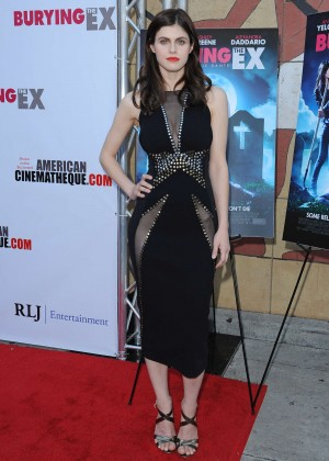 Alexandra Daddario - 'Burying The Ex' Screening in LA