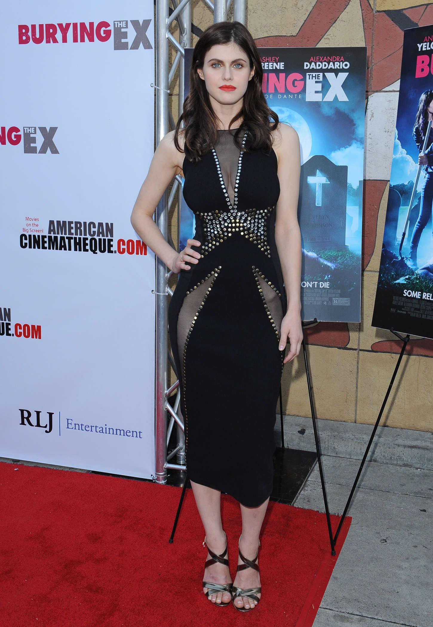 Alexandra Daddario - 'Burying The Ex' Screening in LA