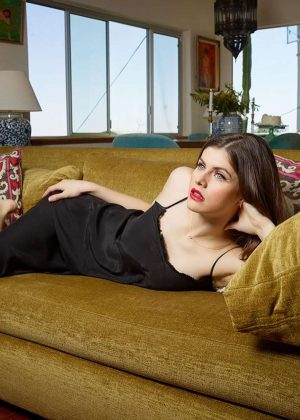 Alexandra Daddario by Jim Krantz Photoshoot 2019