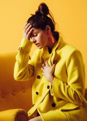 Alexandra Daddario by Sela Shiloni Photoshoot 2019