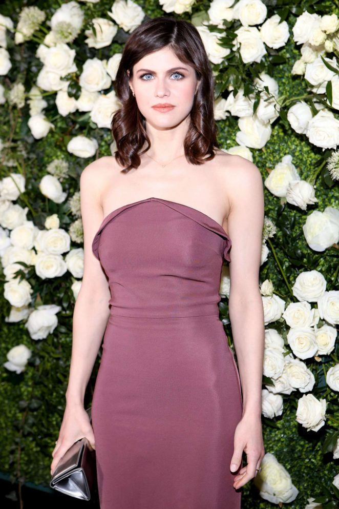 Alexandra Daddario - CFDA Variety and WWD Runway to Red Carpet in LA