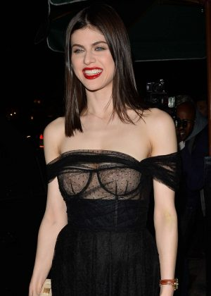 Alexandra Daddario - Dior Addict Lacquer Pump Launch Party in West Hollywood
