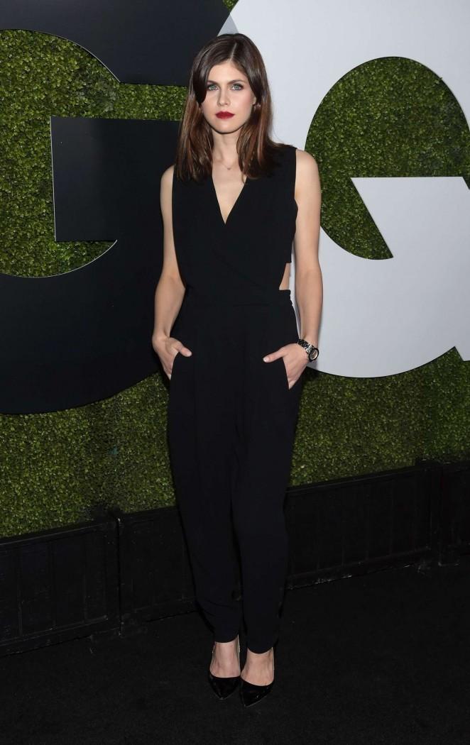 Alexandra Daddario - GQ Men Of The Year Party 2015 in LA