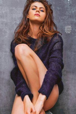 Alexandra Daddario - Grazia Italia (January 2021)