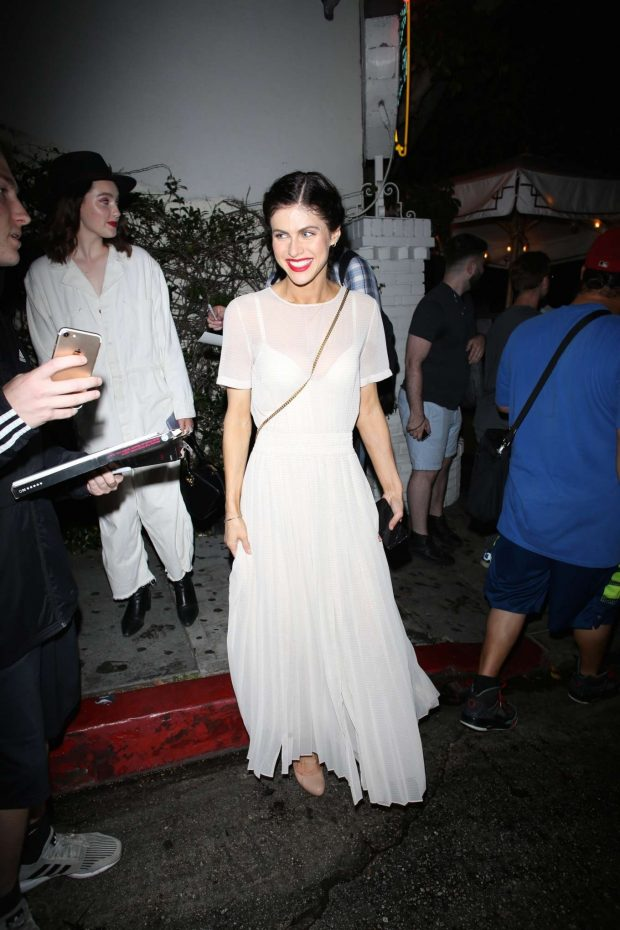 Alexandra Daddario: Leaving the Chateau Marmont-02