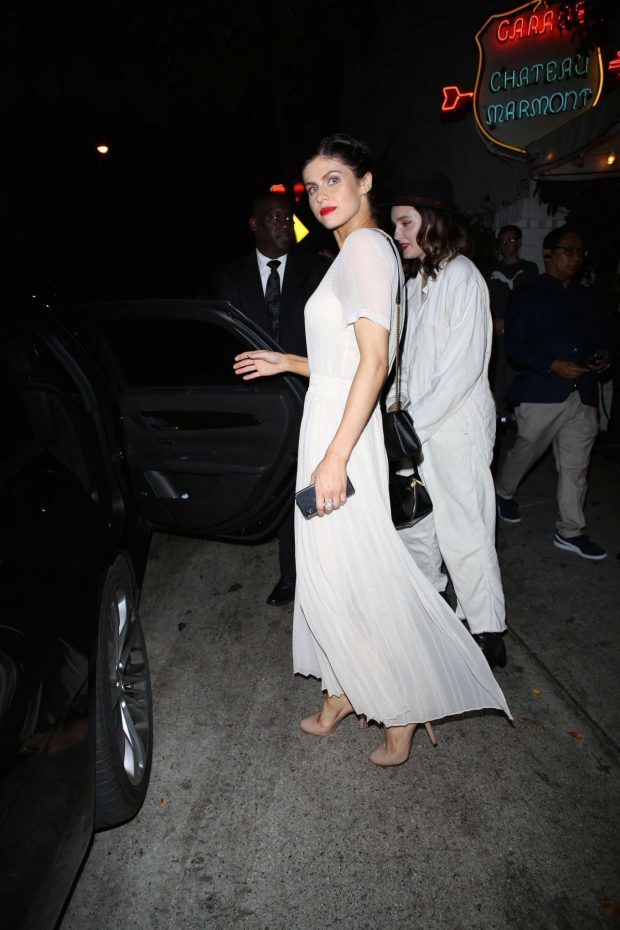 Alexandra Daddario: Leaving the Chateau Marmont-07