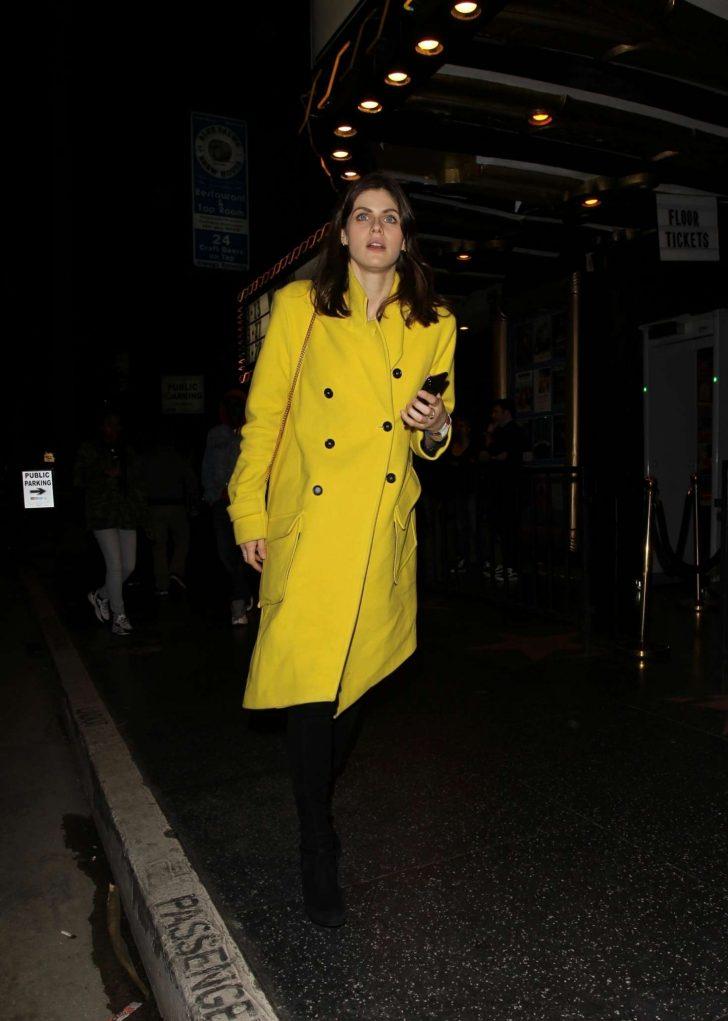 Alexandra Daddario: Leaving The Fonda Theatre -07