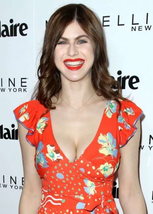 Alexandra Daddario - Marie Claire Celebrates 'Fresh Faces' Event in LA