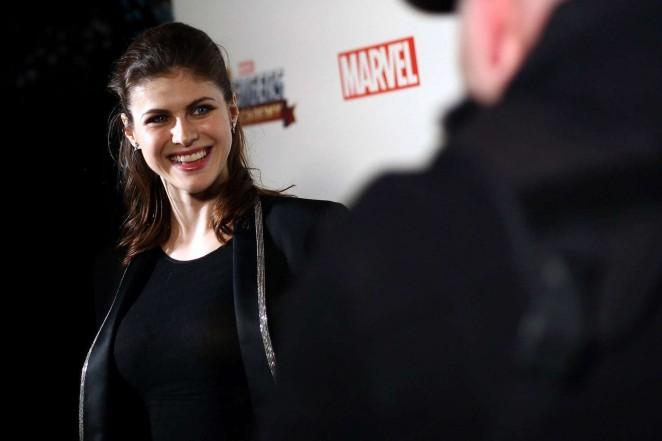 Alexandra Daddario: MARVEL Avengers Academys Party -03