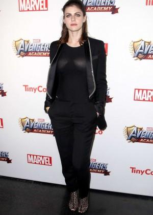 Alexandra Daddario: MARVEL Avengers Academys Party -04