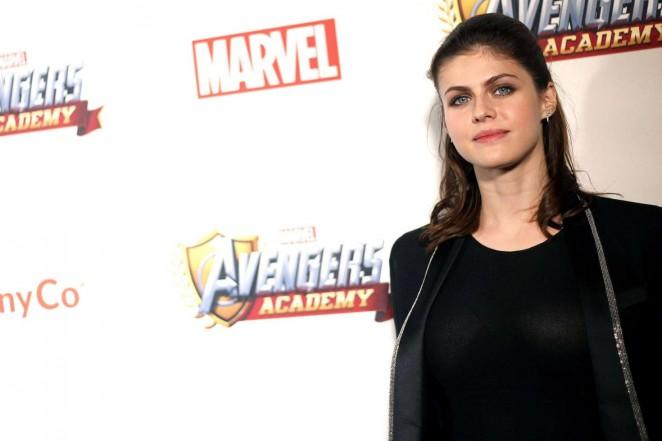 Alexandra Daddario: MARVEL Avengers Academys Party -06