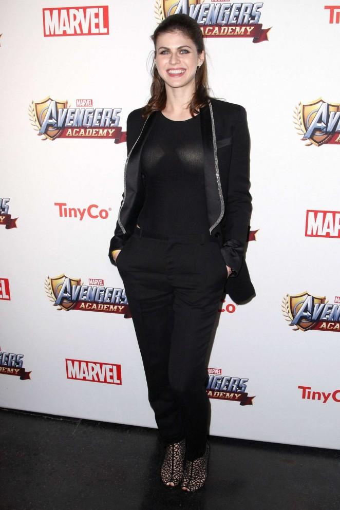Alexandra Daddario: MARVEL Avengers Academys Party -07