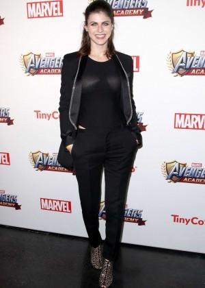 Alexandra Daddario: MARVEL Avengers Academys Party -08