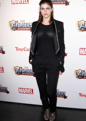 Alexandra Daddario: MARVEL Avengers Academys Party -09