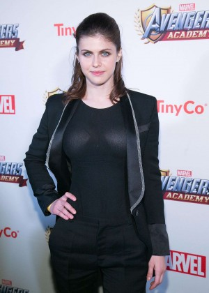 Alexandra Daddario - MARVEL Avengers Academy's Party in LA