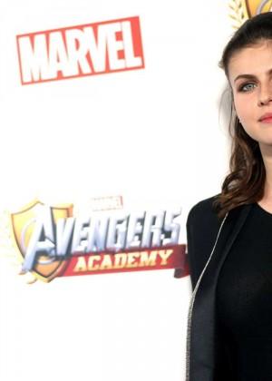 Alexandra Daddario: MARVEL Avengers Academys Party -19