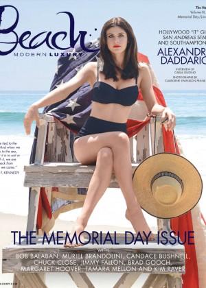 Alexandra Daddario - Modern Luxury Magazine (June 2015)