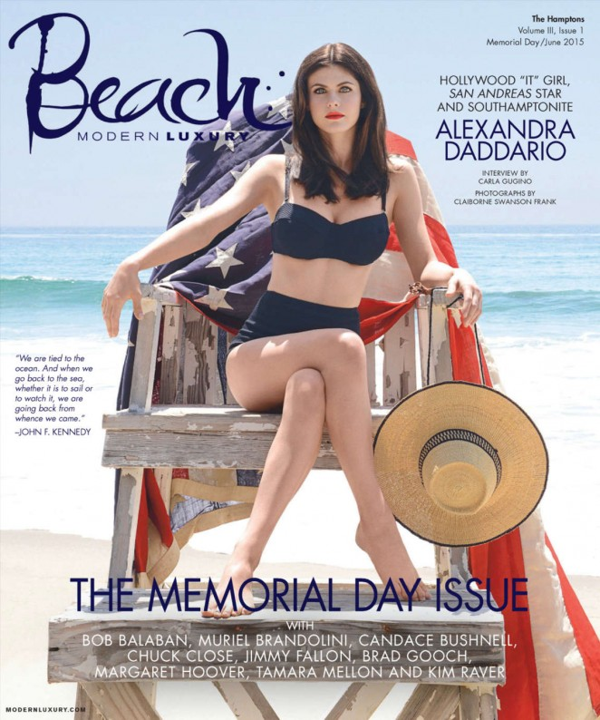 Alexandra Daddario - Modern Luxury Magazine (June 2015)