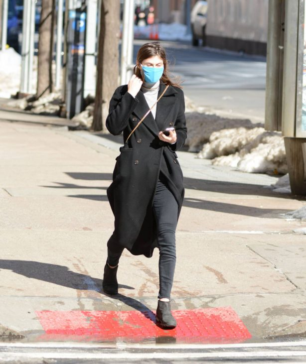 Alexandra Daddario - Out in New York