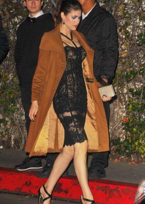 Alexandra Daddario - Paramount Pre-Golden Globes Celebration in LA
