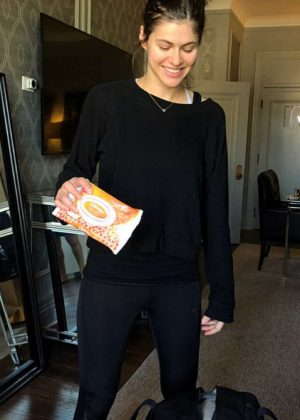 Alexandra Daddario - Social Media Pics