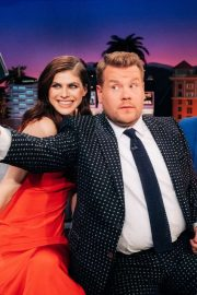 Alexandra Daddario - The Late Late Show with James Corden