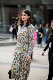 Alexandra Daddario - Tory Burch NYFW SS20 show in Brooklyn