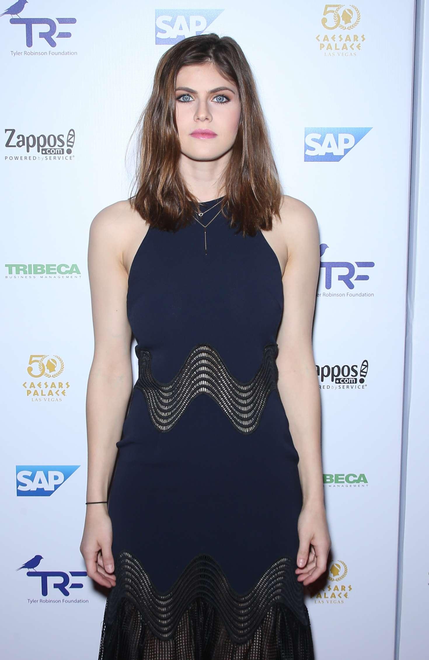 Alexandra Daddario - Tyler Robinson Foundation Gala in Las Vegas
