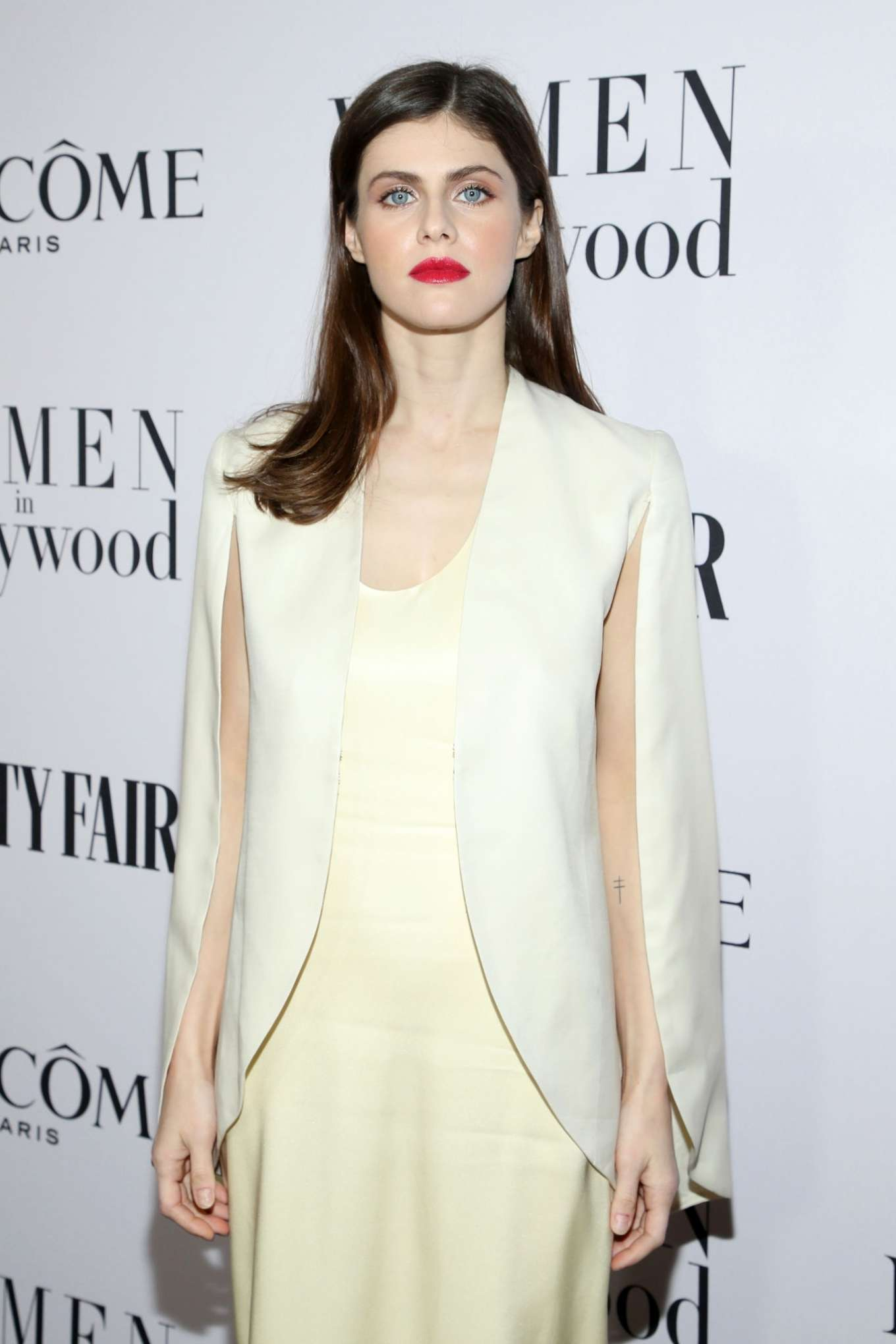 Alexandra Daddario - Vanity Fair and Lancome Women In Hollywood Celebration in West Hollywood