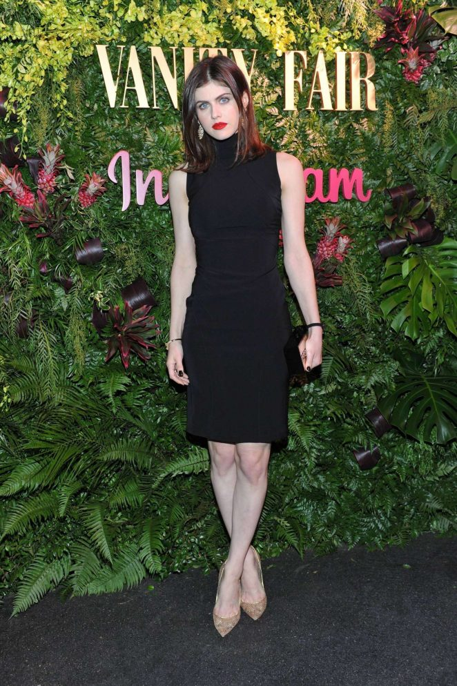 Alexandra Daddario - Vanity Fair x Instagram Celebrate the New Class of Entertainers in LA